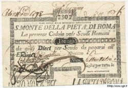 30 Scudi ITALIE  1797 PS.126 TTB+