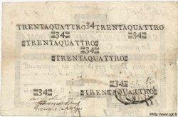 34 Scudi ITALIE  1797 PS.130 pr.TTB