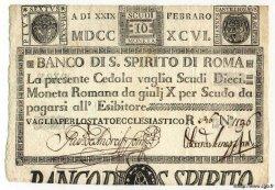 10 Scudi ITALIE  1796 PS.182 SPL