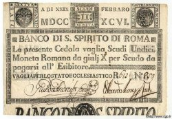 11 Scudi ITALIE  1796 PS.183 SUP+