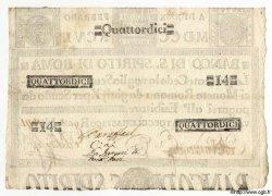 14 Scudi ITALIE  1796 PS.186 SUP