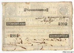 99 Scudi ITALIE  1796 PS.271 TTB