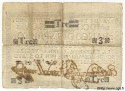 3 Scudi ITALIE  1795 PS.285 TTB