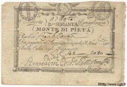 60 Bajocchi ITALIE  1798 PS.315 TB à TTB