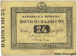 24 Baiocchi ITALIE  1849 PS.573 TB+