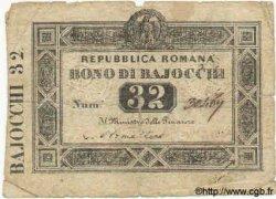 32 Baiocchi ITALIE  1849 PS.574 B+