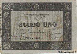 1 Scudo ITALIE  1849 PS.577 TTB