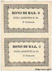 5 Et 6 Bajocchi ITALIE  1849 PS. pr.NEUF