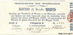 1 Scudo ITALIE  1849 PS.- NEUF