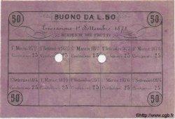 50 Lires ITALIE  1871 GME.0020 SPL