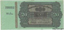 20 Lires ITALIE  1870 GME.0684 SPL