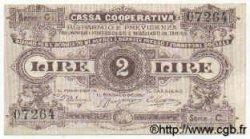 2 Lires ITALIE  1894 GME.0945 SUP