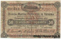 50 Centesimi ITALIE  1868 GME.1020 TB