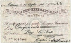 500 Lires ITALIE  1966 GME.1216 TB à TTB