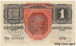 1 Corona ITALIE  1919 PS.102b SPL