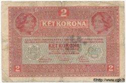 2 Corona ITALIE  1919 PS.104a B+