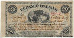 20 Centesimos ITALIE  1867 PS.201 TTB+