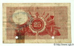 25 Francs NOUVELLES HÉBRIDES  1921 P.A1 B+