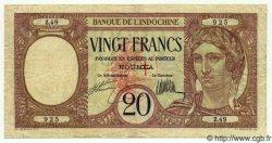 20 Francs NOUVELLES HÉBRIDES  1941 P.06 TTB