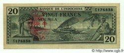 20 Francs NOUVELLES HÉBRIDES  1945 P.07 SUP