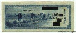 1000 Francs NOUVELLES HÉBRIDES  1944 P.13 TB+ à TTB