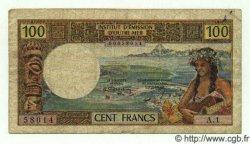 100 Francs NOUVELLES HÉBRIDES  1971 P.16 B+ à TB