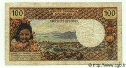 100 Francs NOUVELLES HÉBRIDES  1971 P.16 TB