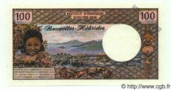 100 Francs NOUVELLES HÉBRIDES  1972 P.18s NEUF
