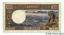 100 Francs NOUVELLES HÉBRIDES  1972 P.18a TTB