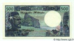500 Francs NOUVELLES HÉBRIDES  1972 P.19 NEUF