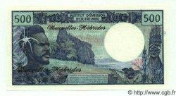 500 Francs NOUVELLES HÉBRIDES  1972 P.19s NEUF