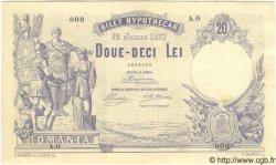 20 Lei ROUMANIE  1877 P.003s SPL