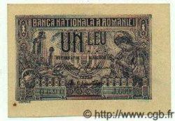 1 Leu ROUMANIE  1915 P.017 SPL