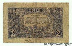 2 Lei ROUMANIE  1915 P.018 pr.TB
