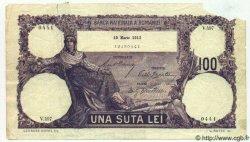 100 Lei ROUMANIE  1912 P.021 AB