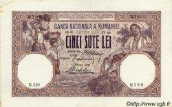 500 Lei ROUMANIE  1919 P.022a SPL