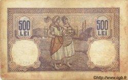 500 Lei ROUMANIE  1920 P.022a B à TB