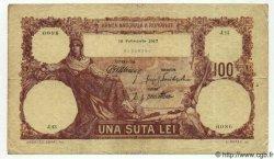 100 Lei ROUMANIE  1917 P.025a TB+
