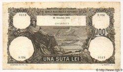 100 Lei ROUMANIE  1931 P.033 TB à TTB