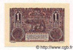 1 Leu ROUMANIE  1937 P.038a NEUF
