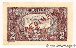 2 Lei ROUMANIE  1938 P.039s pr.NEUF