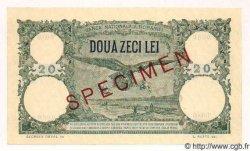20 Lei ROUMANIE  1939 P.041s NEUF