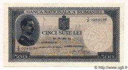 500 Lei ROUMANIE  1936 P.042a pr.NEUF