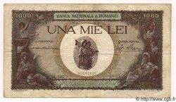 1000 Lei ROUMANIE  1939 P.047 TB