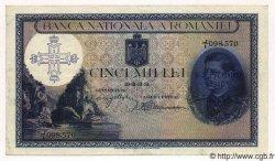 5000 Lei ROUMANIE  1940 P.048 SUP