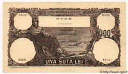 100 Lei ROUMANIE  1940 P.050a SPL