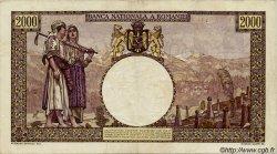 2000 Lei ROUMANIE  1941 P.053 TTB+