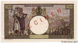 2000 Lei ROUMANIE  1941 P.053s NEUF