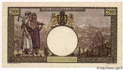 2000 Lei ROUMANIE  1943 P.054 SUP