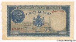 5000 Lei ROUMANIE  1945 P.056a pr.NEUF